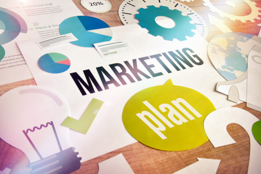 Marketing strategies and layout